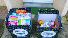 Les habitants donnent leurs jouets pour la bonne cause
