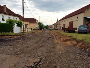 Travaux rue St Jean et rue de l'étang