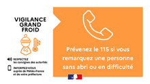 Vigilance Orange Grand Froid