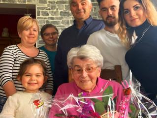 Marie LÉONARD fête son 94e anniversaire