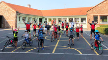 L'école cyclo à nouveau en selle