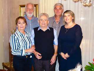 Roger LAGIER fête ses 96 ans