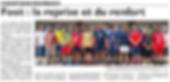 Reprise de l'entraînement pour les joueurs de l'Union Sportive de Saint-Jean-Rohrbach paru le 02/08/15 dans le Républicain Lorrain