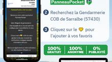 La gendarmerie de Sarralbe informe sur PanneauPocket
