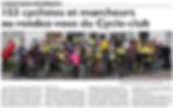 Marche du Cyclo-club de Saint-Jean-Rohrbach paru le 03/11/15 dans le Républicain Lorrain