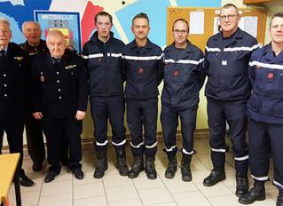 Assemblée générale de l'amicale des sapeurs-pompiers