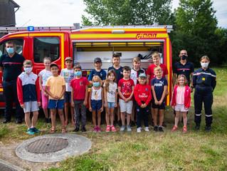 Estivales : Visite chez les sapeurs-pompiers