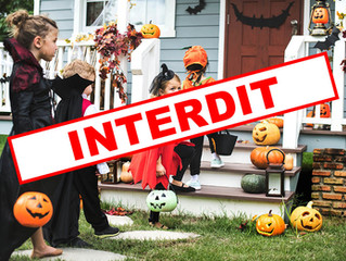 Pas d'Halloween cette année