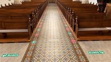 L'église est prête à accueillir à nouveau du public
