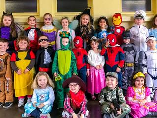 Défilé de carnaval pour la maternelle