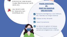Port du masque - Arrêté préfectoral du 13/10/21