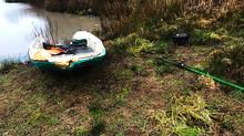 Dégradations à l'étang