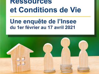 Enquête INSEE sur les ressources et conditions de vie des ménages