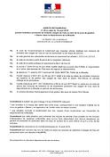 Arrêté préfectoral Sécheresse 2018-08-10