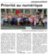 Rentrée des classes à Saint-Jean-Rohrbach paru le 02/09/15 dans le Républicain Lorrain