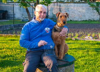 Roland Drui se classe 4e aux championnats de France d'obéissance canine