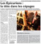 Nouveau club d'oenologie à Saint-Jean-Rohrbach paru le 08/11/15 dans le Républicain Lorrain