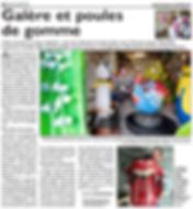 Article sur Pascal Jung, un sculpteur de Saint-Jean-Rohrbach paru le 17/05/16 dans le Républicain Lorrain