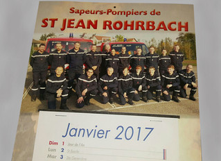 Tournée des calendriers des pompiers