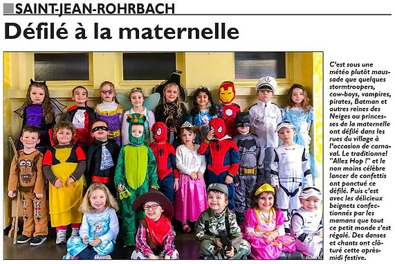 Assemblée génarale du Cyclo-Club de Saint-Jean-Rohrbach paru le 05/03/16 dans le Républicain Lorrain