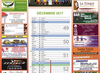Tournée des calendriers de l'US St-Jean