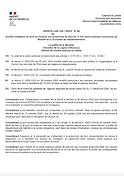 Arrêté préfectoral 2020-12-18 Port du ma