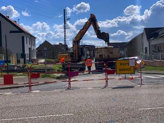 Le chantier de réfection de la Grand rue a débuté