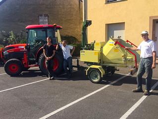 Un nouvel outil pour les ouvriers communaux