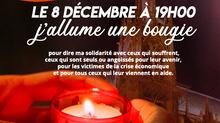 Messe à Saint-Jean mardi 8 décembre à 18h00