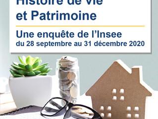 Enquête INSEE sur l'histoire de vie et le patrimoine des ménages