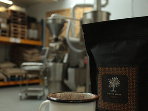 Our Coffee is Roasted on a Loring!