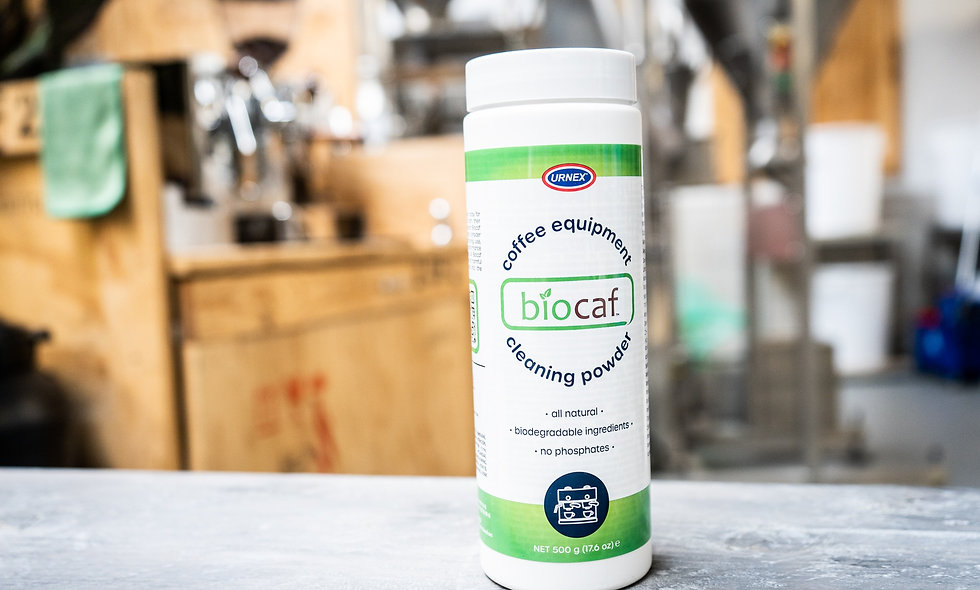 Urnex Biocaf cleaning powder