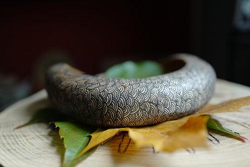 Collier en bois naturel de peuplier