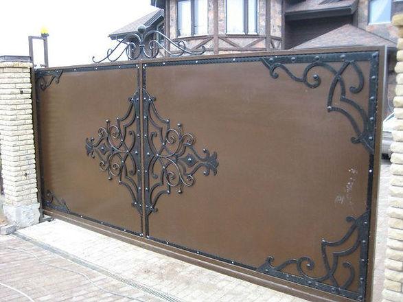 Кованые изделия Краснодар, откатные ворота Краснодар