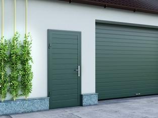 Гаражная дверь должна быть красивой! Стильное решение от Компании Воротные системы и DoorHan