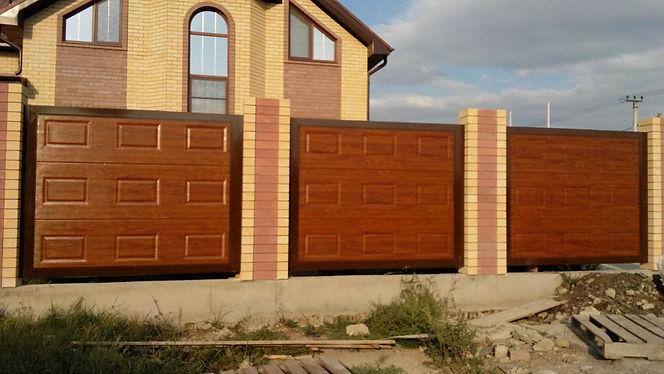 Заборы Краснодар гаражные ворота Краснодар
