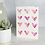 Thumbnail: Painted Hearts Valentine's Day Card