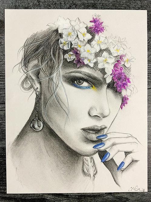 Edgy Beauty Portrait