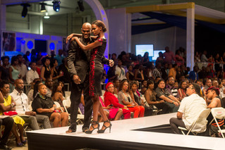 Marcia Nicely shines at Caribbean Fashion Week