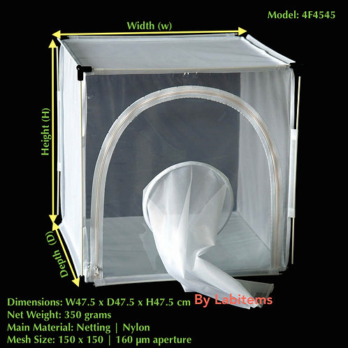 Fine Mesh Insect Rearing Cage 4F4545
