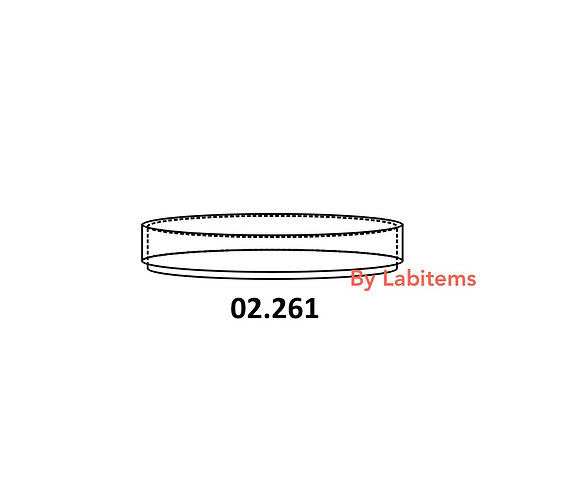 Petri dishes, Boro33 glass, repeatedly autoclavable