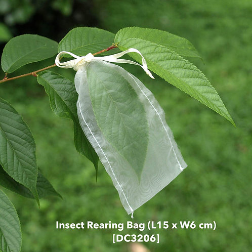 Insect rearing bag (L15 x W6cm) DC3206