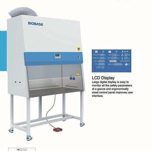 Class II B2 Biological Safety Cabinet - 100% Exhaust