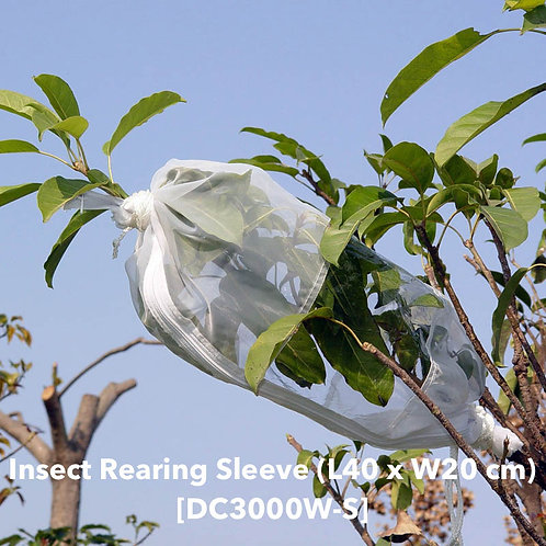 Insect rearing bag (L40 x W20cm) DC3000W-S