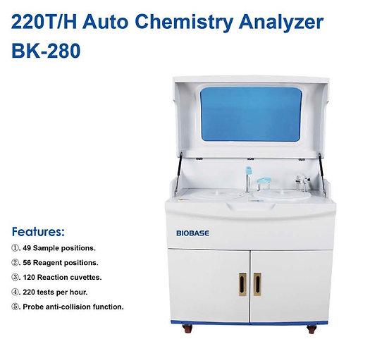 220 T/H Auto Chemistry Analyzer (BK 280)