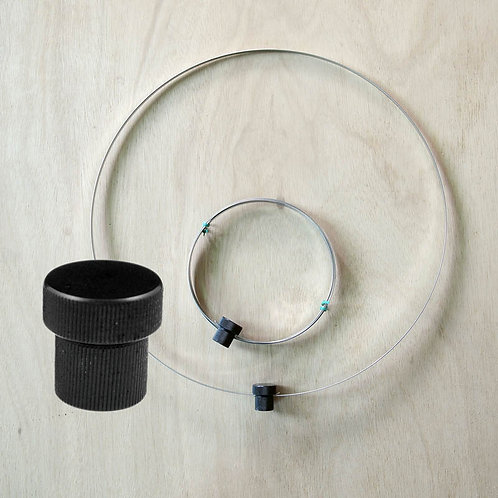 """Insect Net Ring (dia60 cm, 5/16"""" female connector)"""