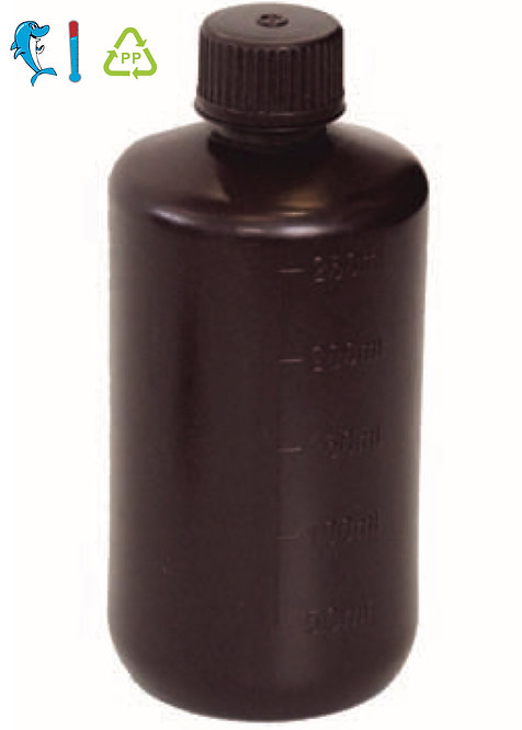 Amber Reagent Bottle Narrow mouth