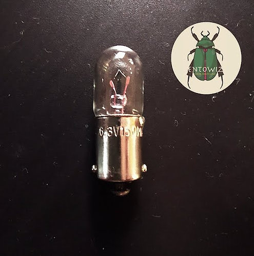 Miniature bulb for CDC light trap