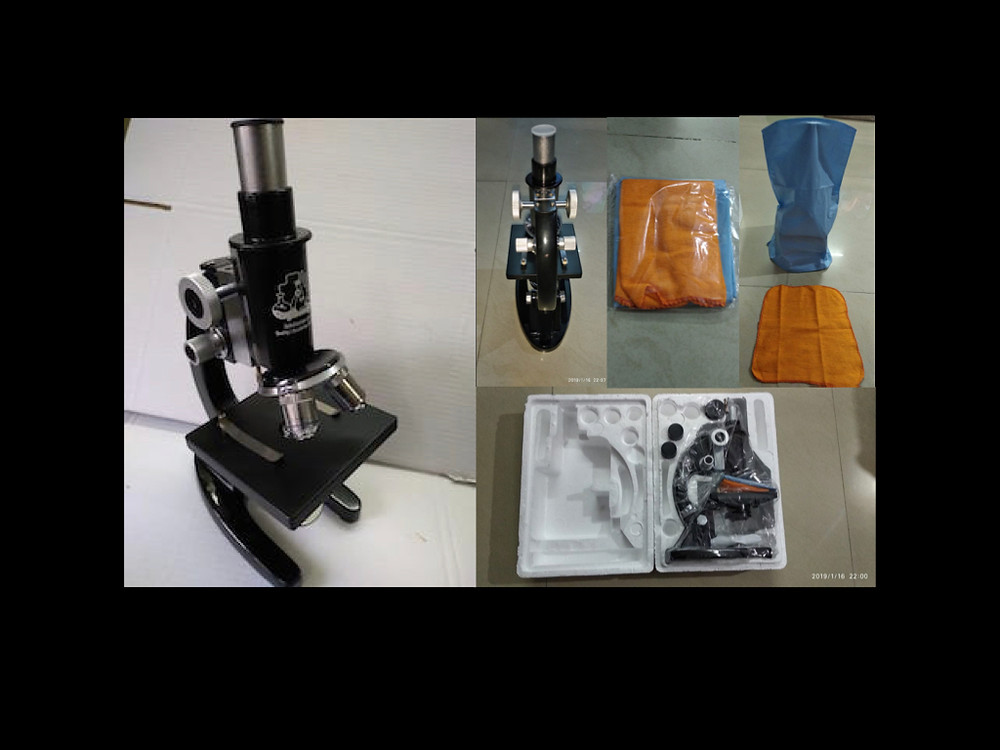 Microscope for kids and professionals