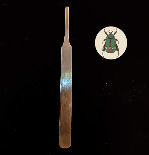 Blunt ended entomological forceps for insects research